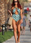 Amy Childs in a Sexy Swimsuit