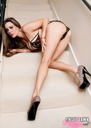 Linsey Dawn McKenzie doing a Dildo