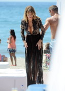 Deep Cleavage by Chloe Sims in Spain!