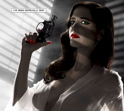 Eva Green Sin City Poster is TOO Boobtastic for MPAA!
