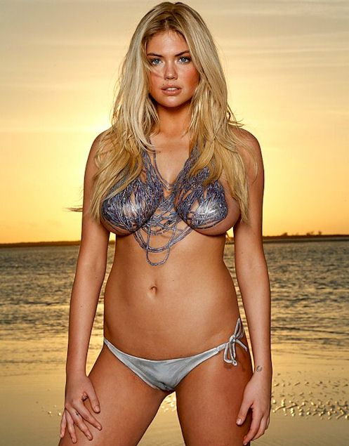 Sports Illustrated Posts Kate Upton's PUSSY by Accident!