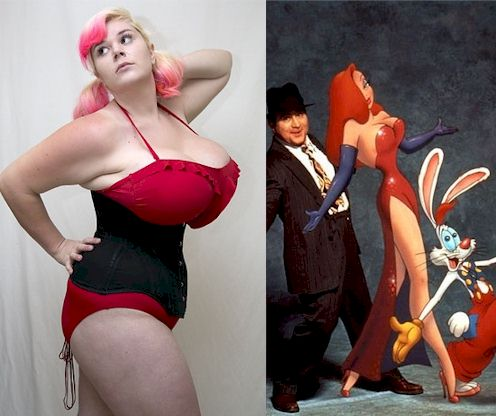 Girl Wants a Jessica Rabbit Body!