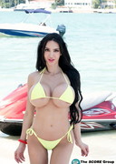 Topless Jet Skiing with Amy Anderssen!