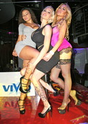 Bella French Partying at Vivid Cabaret in NYC!