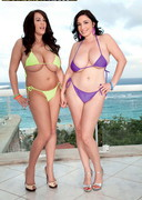 Busty Bikini Babes Leanne Crow and Michelle Bond!