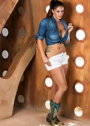 Alison Tyler in the Boob Glory Hole Box!