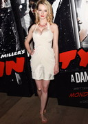 Dakota Blue Richards Cleavage at Sin City Screening!