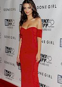 Emily Ratajkowski in a Red Dress!