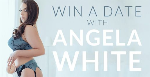 Angela White Fleshlight Released and Win a Date with Her!