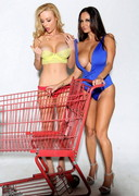 Shopping with Ava Addams and Kayden Kross!