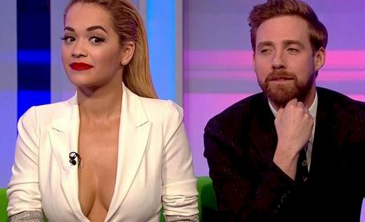 Rita Ora's Boobs are TOO MUCH for British TV!