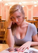 Busty Coed Kendra Sunderland Fined for Masturbating in the Library!