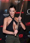 Jordan Carver Watched a Horror Movie!