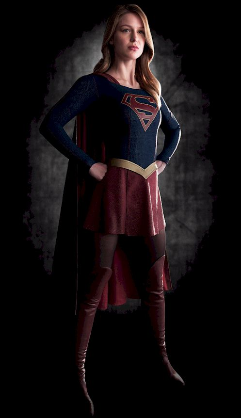 Carlotta Champagne is Supergirl!!