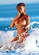 Charlie Riina in a Golden Bikini!