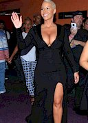 The Amber Rose Code of the Day is… Cleavage!