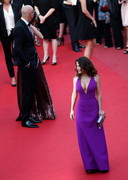 Salma Hayek's Cleavage in Purple!