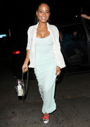 Christina Milian Cleavage in a Summer Dress!