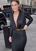Sam Faiers in a See Through Dress!