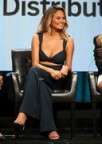 Chrissy Teigen Cleavage on The FAB Life Panel!