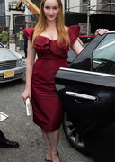 Christina Hendricks' Boobs was at a Fashion Show!