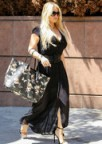 Jessica Simpson Cleavage in Black!