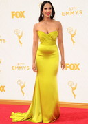 Padma Lakshmi Cleavage at the 67th annual Emmy Awards!