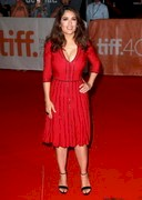 Salma Hayek's Cleavage at the Toronto Film Festival!