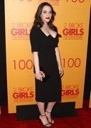 There are 100 Episodes of Kat Dennings' Cleavage in 2 Broke Girls!