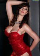 Lana Kendrick Posing as Jessica Rabbit!