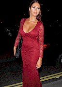 Amy Childs Cleavage at the London Lifestyle Awards!