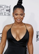 Christina Milian's Cleavage at the 2015 American Music Awards!