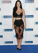 Jayde Nicole Walks the Red Carpet in Lingerie!