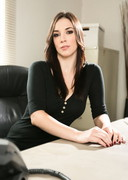 Jelena Jensen is the Stripping Office Babe