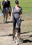 Kate Upton Walked Her Dogs!