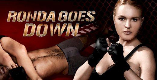 Ronda Goes Down!!!
