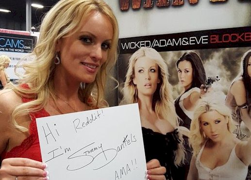 Ask Legendary Porn Star Stormy Daniels Anything on Reddit Today!