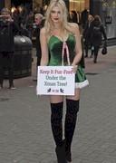 Ashley James is an Activist Christmas Elf!
