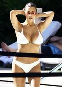 Spy Pics of Devin Brugman in a White Bikini!