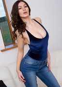 Summer St. Claire is Topless in Jeans!