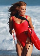 Angelica Bridges Back in the Baywatch Swimsuit!