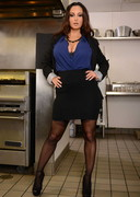 Ava Addams is the Food Inspector!