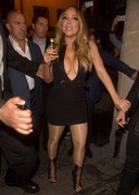 Mariah Carey Cleavage and Pasties in Paris!